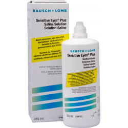 Sensitive Eyes 355ml Saline Solution