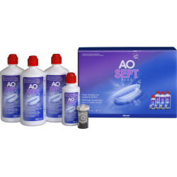 AOSEPT Plus multipack 3x360ml+1x90ml