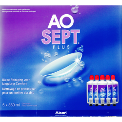 AOSEPT PLUS MultiPack 5 x 360ml