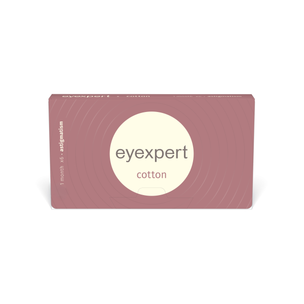 Eyexpert cotton for astigmatisme