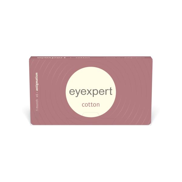 Eyexpert cotton for astigmatisme
